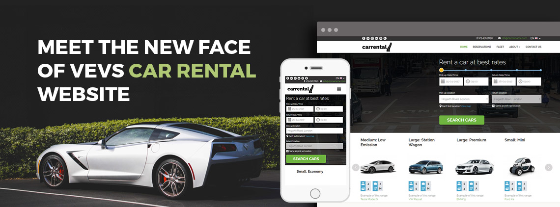 Meet the new face of VEVS Car Rental Website Builder
