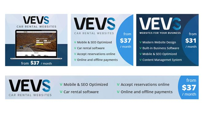 VEVS Affiliate Banners