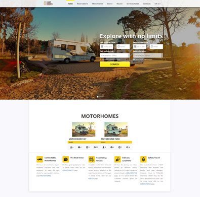 VEVS Custom Website - Camproutes