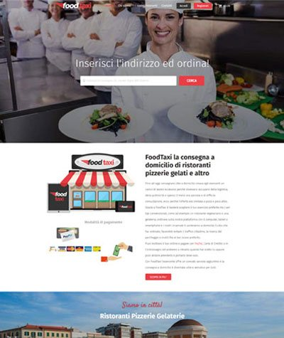 VEVS Custom Site - Foodtaxi