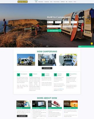 VEVS Custom Site - Hostel On Wheels