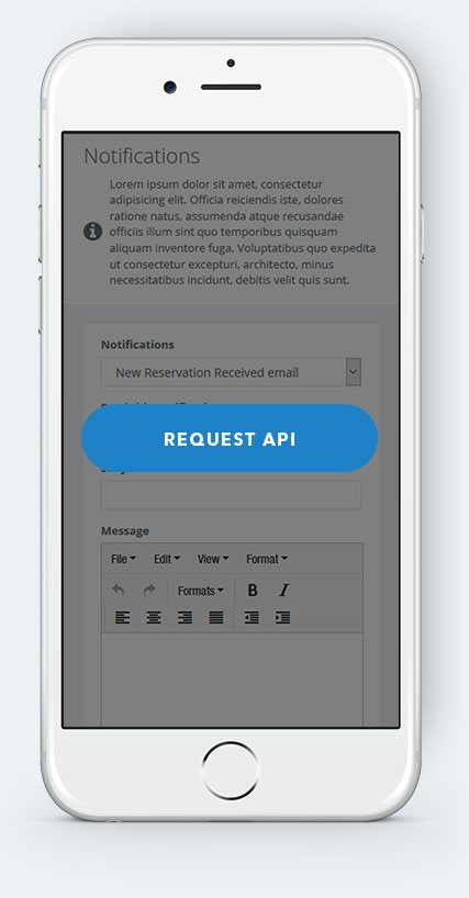 Automated SMS notifications