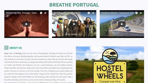 Hostel on Wheels - Campervan Portugal & Spain