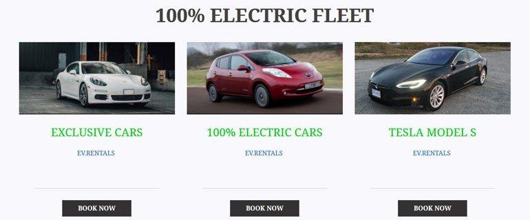Ecomoto Electric Car Rentals
