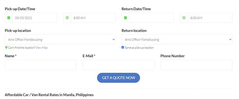 ANIS Transport - Philippines