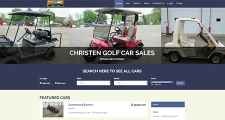 Christen Golf Cars