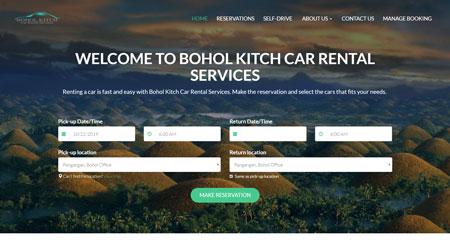 Bohol Kitch Car Rental Services