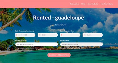 Rented - Guadeloupe