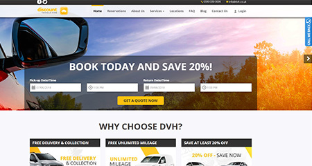 Discount Vehicle Hire