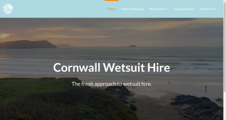 Cornwall Wetsuit Hire