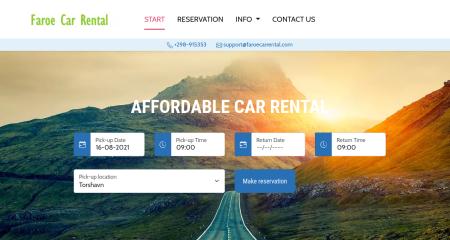 Faroe Car Rental