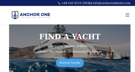Anchor One Boats