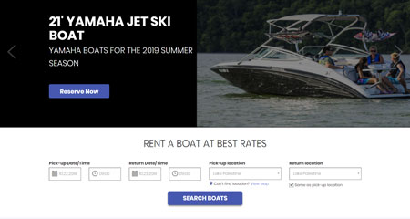 East Texas Boat Rentals