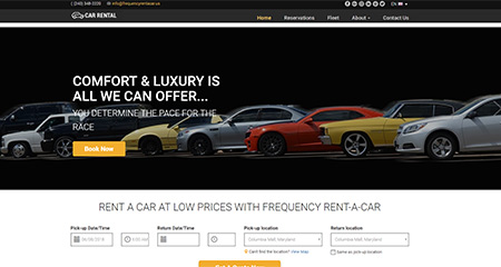 Frequency Rent a car