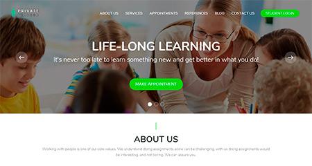 Techer Website