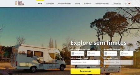 CampRoutes Motorhome Rental