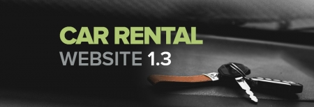 Car Rental Website 1.3: Take your rent-a-car business to the next level