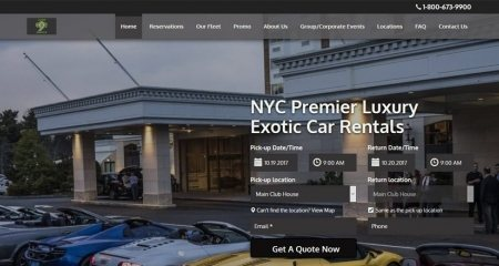 Cloud 9 Exotics Car Rental Agency