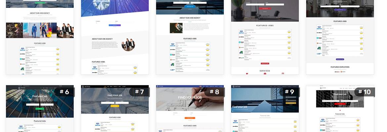 Captivating New Release of VEVS Job Portal Website Solution
