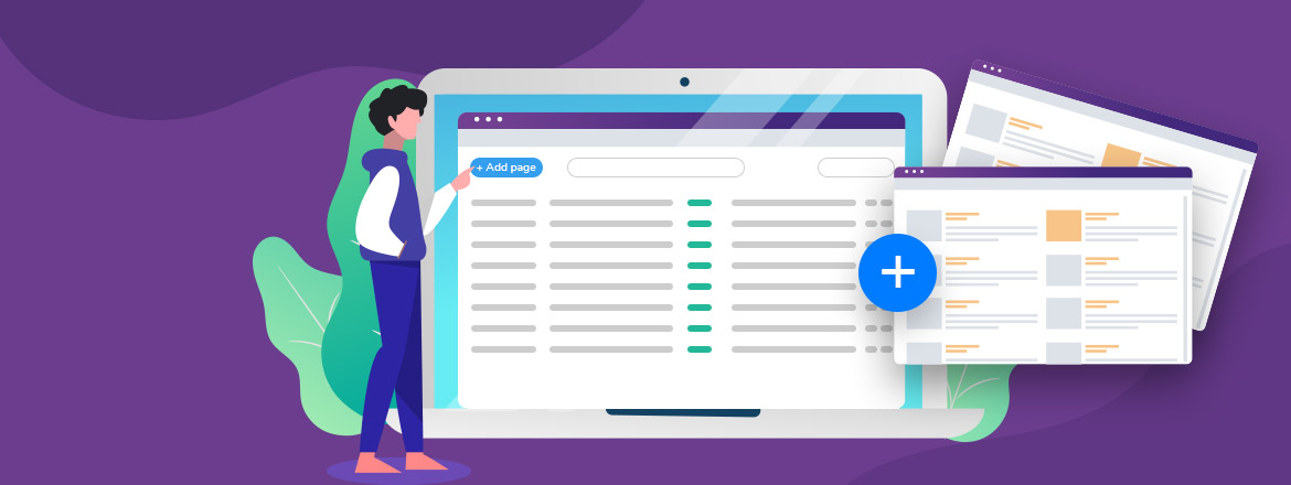 Create new pages and manage website menu with the new VEVS CMS