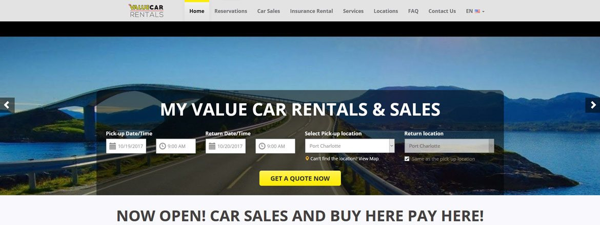 My Value Car Rentals