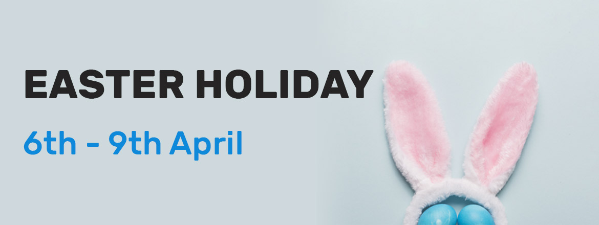 Out of office: Easter holidays