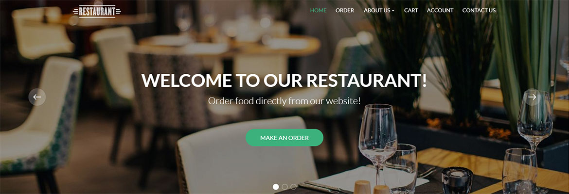 Take Your Restaurant Online With Our Food Ordering Restaurant Website