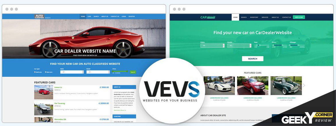 VEVS Review: A Top-notch Car Dealer Website - Quickly And Affordably?