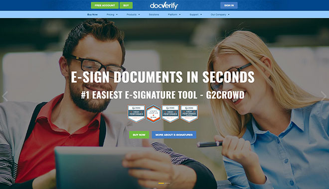 DocVerify, Inc.