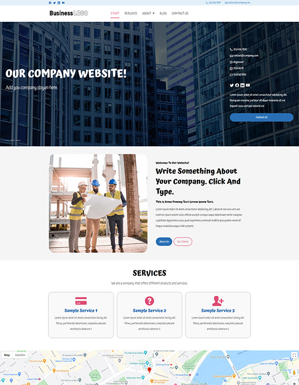 Standard Website Template #2