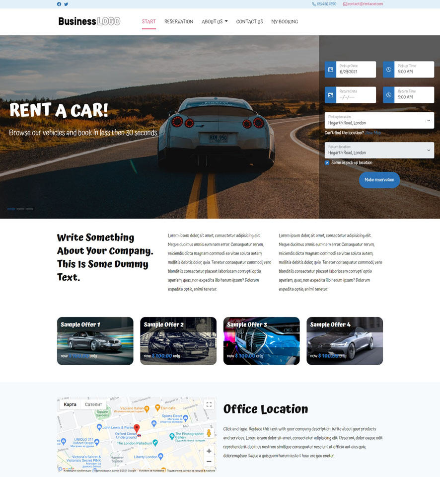 Rentals Websites: Online Car Hire Service Providers Offer Vehicles At