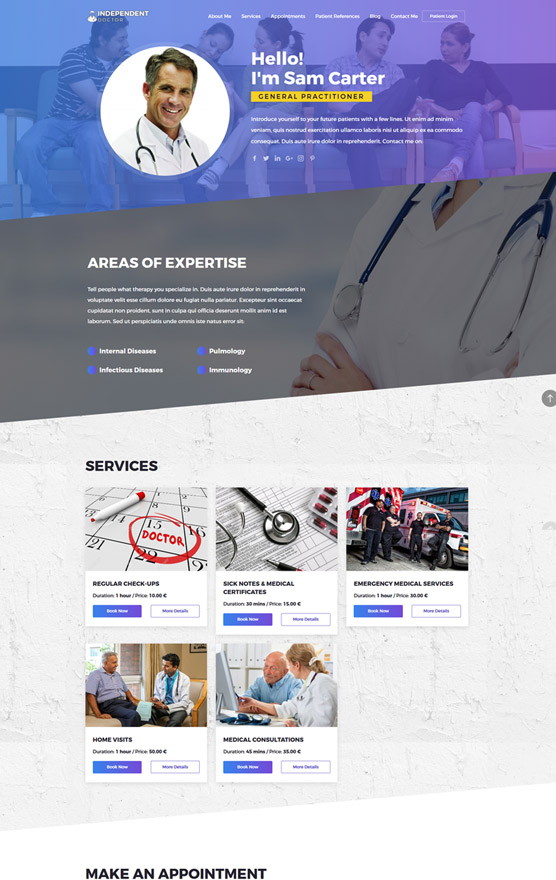 VEVS Medical Website