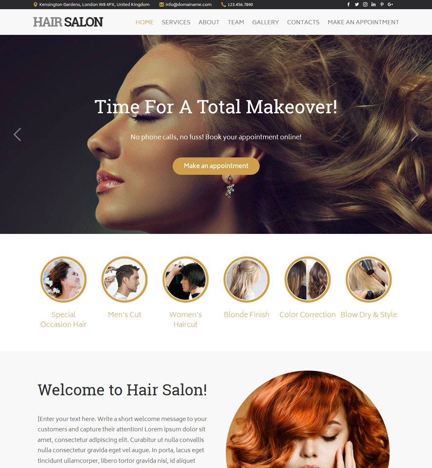 Hairstyle websites free hairstyles for Hair salon 2