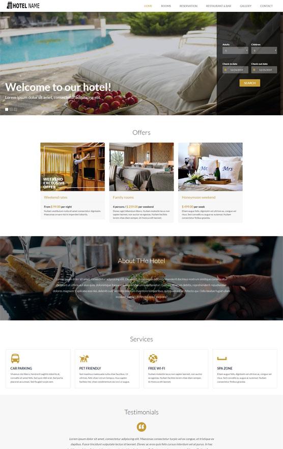 Vevs Hotel Websites 3