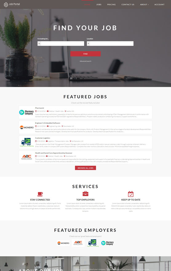 Job Portal Website 2