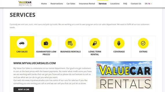 VEVS Clients - My Value Car Rentals
