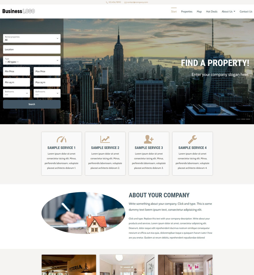 Real Estate Website Design by VEVS 3
