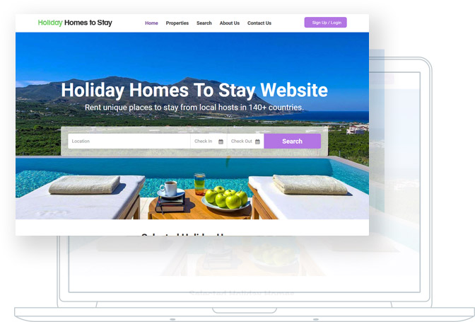VEVS: Vacation Rental Websites | Website Builder
