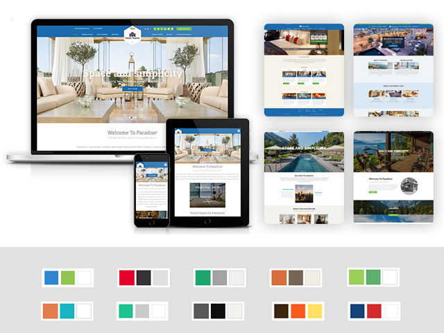 Create your stunning Hotel Website with VEVS